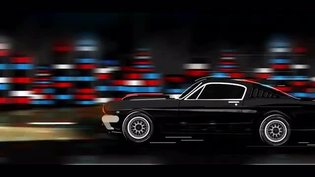 Mustang Cartoon Logo: After Effects Templates