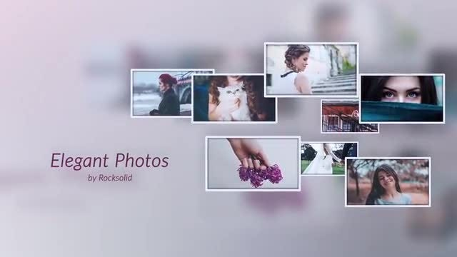 Elegant Photos: After Effects Templates