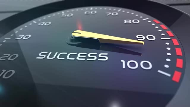 Success Meter : Stock Motion Graphics