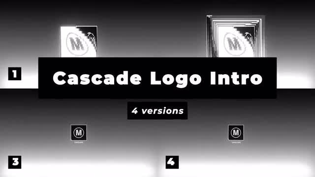 Cascade Logo Reveal: After Effects Templates