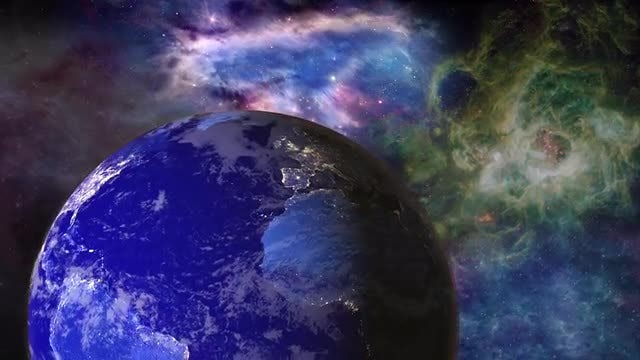 Universe And Earth: Stock Motion Graphics
