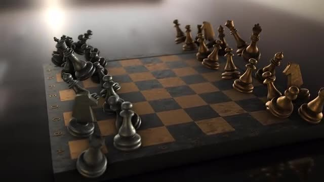 Flying Chess: Stock Motion Graphics