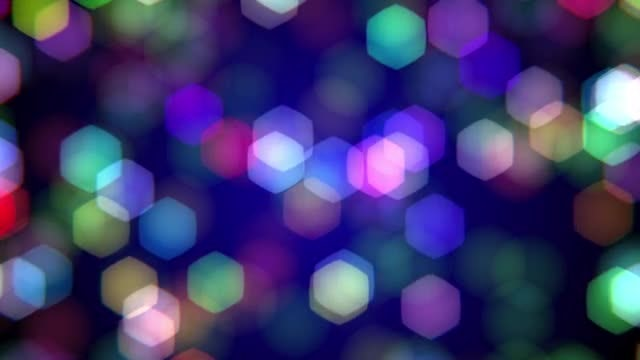 Colorful Bokeh Background: Stock Motion Graphics