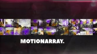 Hard Rock Slideshow: After Effects Templates