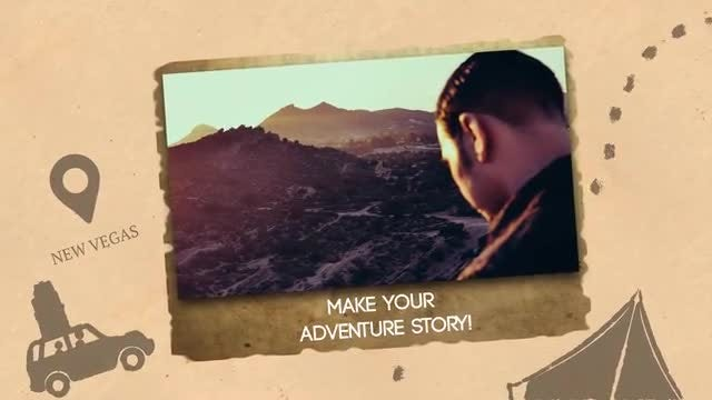 Adventure Slideshow: After Effects Templates
