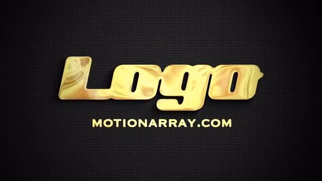 Liquid Gold/Silver Logo: After Effects Templates