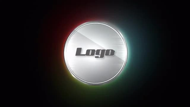 Steel Logo: After Effects Templates