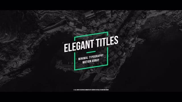 Creative Titles Pack v.4: Premiere Pro Templates