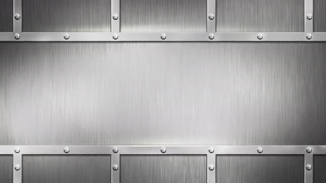 Steel Wall Background: Stock Motion Graphics