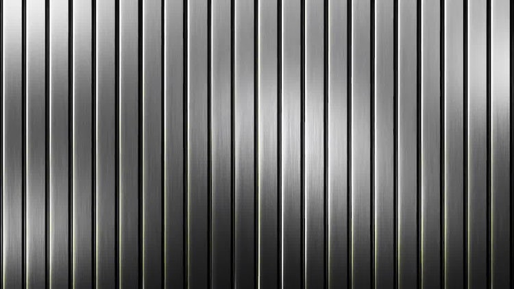 Steel Slats Background: Stock Motion Graphics