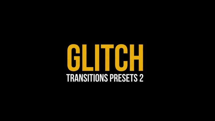 Glitch Transitions Presets 2: Premiere Pro Presets