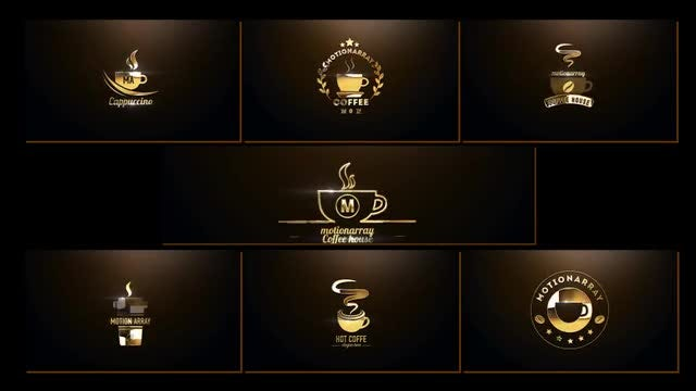 Present Coffee: After Effects Templates
