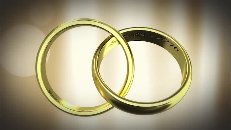 Gold Rings: After Effects Templates
