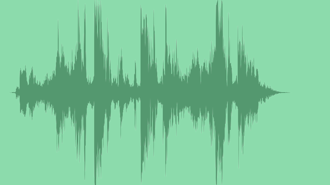 Glitchy Abstract Logo: Royalty Free Music