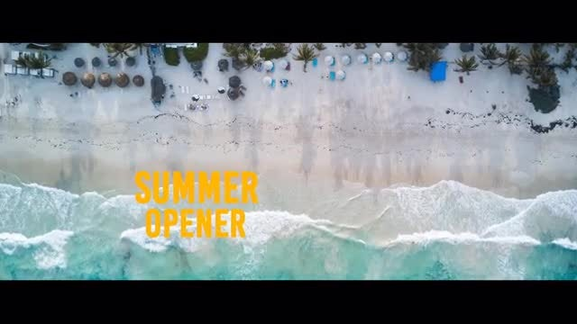 Summer Opener: After Effects Templates