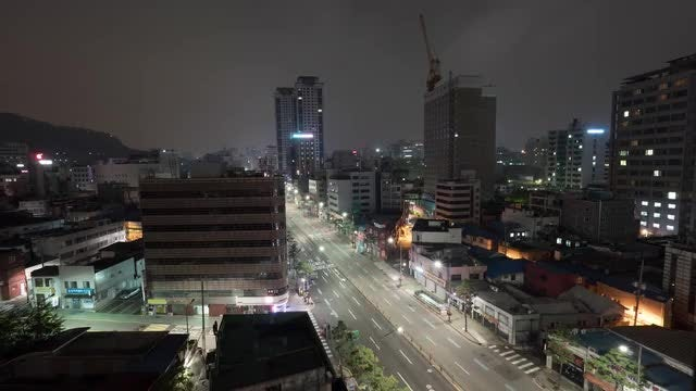 Time Lapse Of Seoul : Stock Video