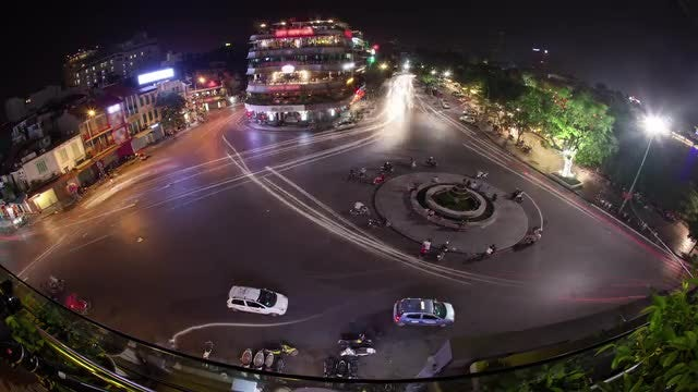 Time Lapse Of City Traffic : Stock Video