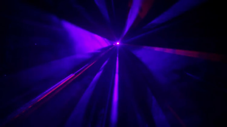 Laser Rays Flashing In Lines: Stock Video