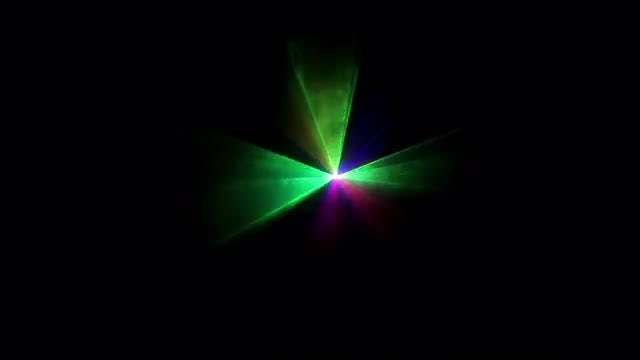 Colored Laser Rays Flashing: Stock Video