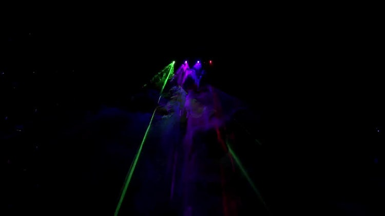 Beautiful Laser Rays Flashing : Stock Video