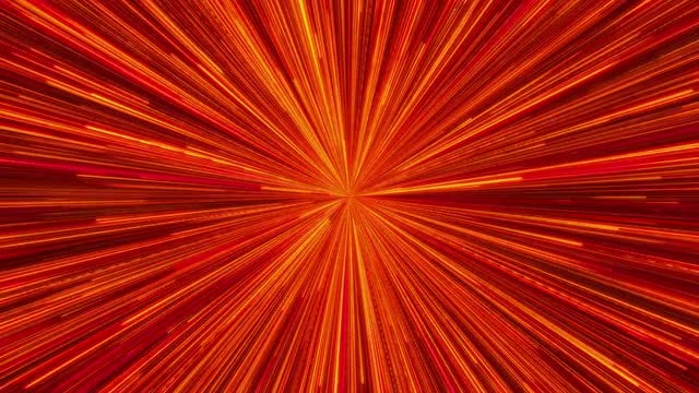 Red Ray Light Background: Stock Motion Graphics