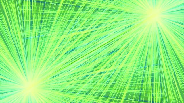 Green Ray Light Background: Stock Motion Graphics