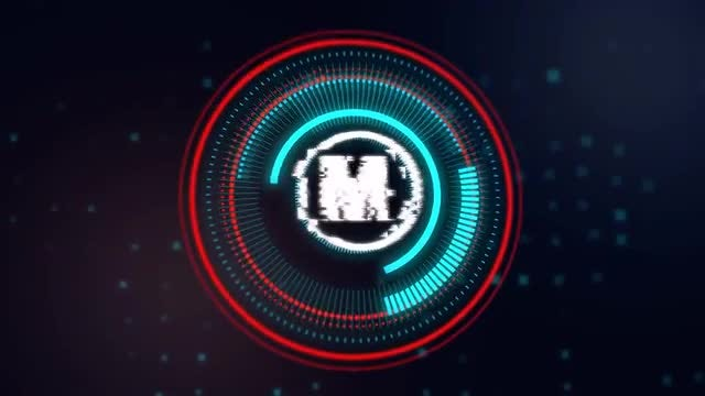 HUD Logo Reveal: After Effects Templates