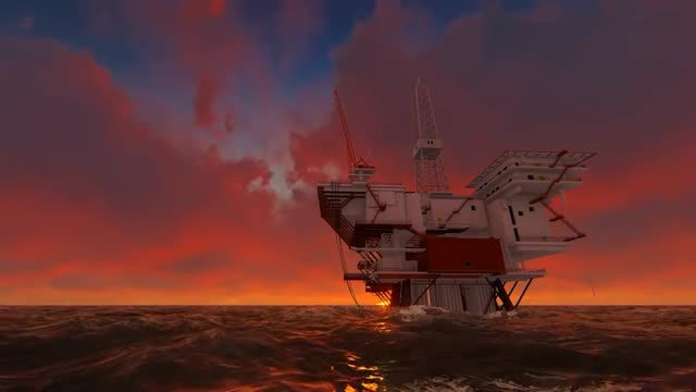 Offshore Oil: Stock Motion Graphics