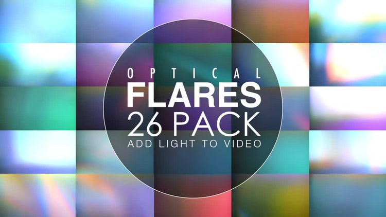 Lens Flares Pack: Stock Motion Graphics