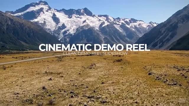 Cinematic Demo Reel: Premiere Pro Templates