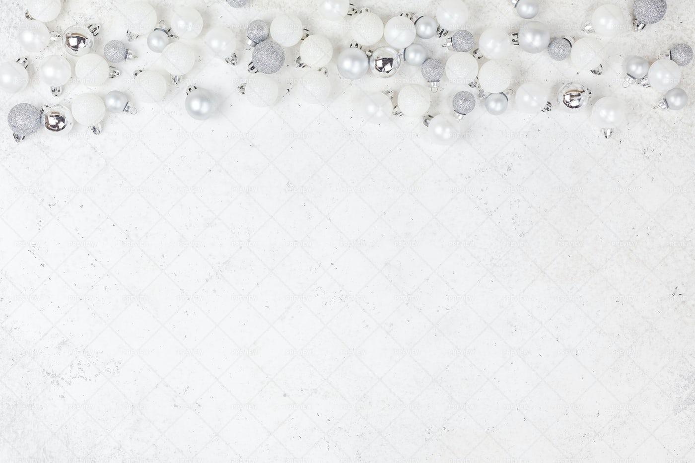 White Christmas Background: Stock Photos