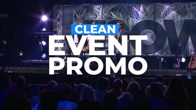 Clean Event Promo: Premiere Pro Templates