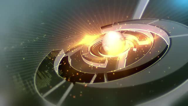 Global Power Orb : Stock Motion Graphics