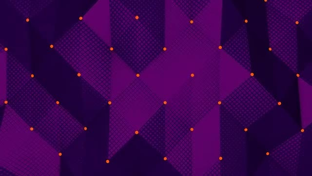 Purple Abstract Background: Stock Motion Graphics