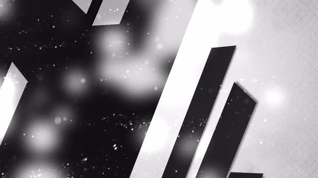 Black And White Abstract Background: Stock Motion Graphics