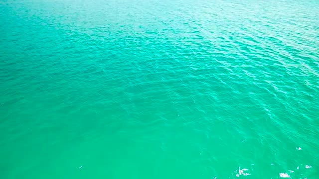 Calm Ripples Of Seawater: Stock Video