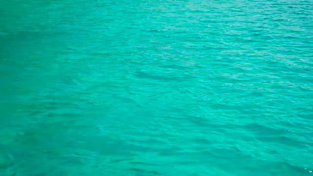 Blue Calm Seawater: Stock Video