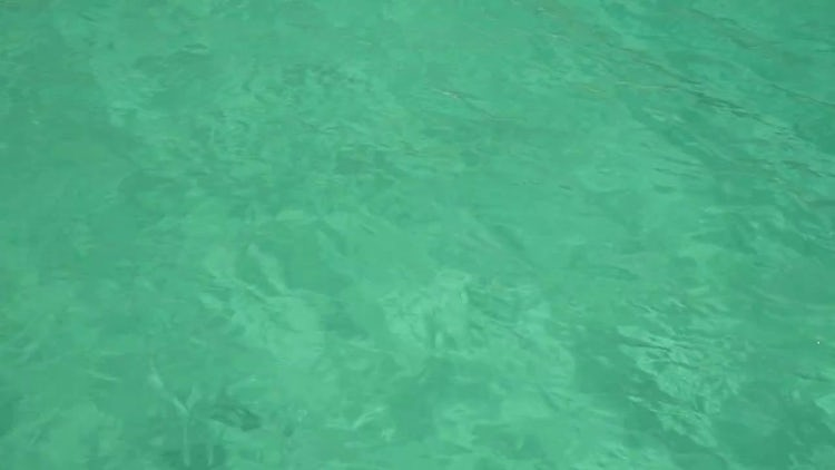 Turquoise Sea Water: Stock Video