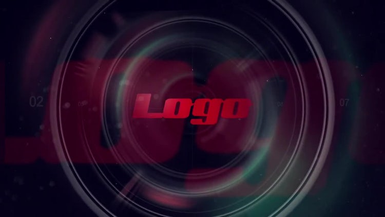 Lens Logo: After Effects Templates