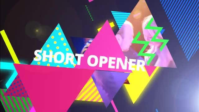 Abstract Party Opener: After Effects Templates