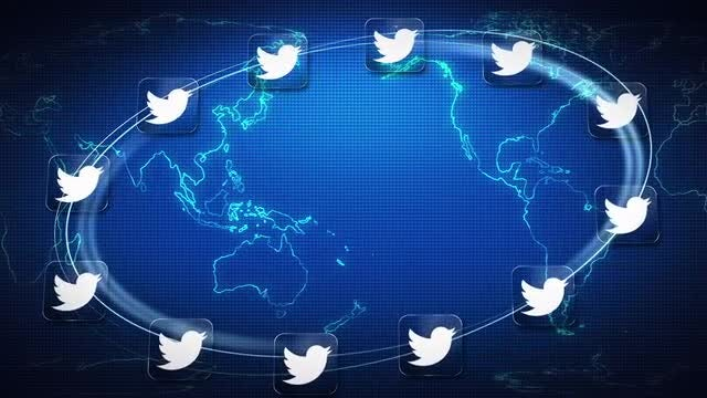 Twitter World: Stock Motion Graphics