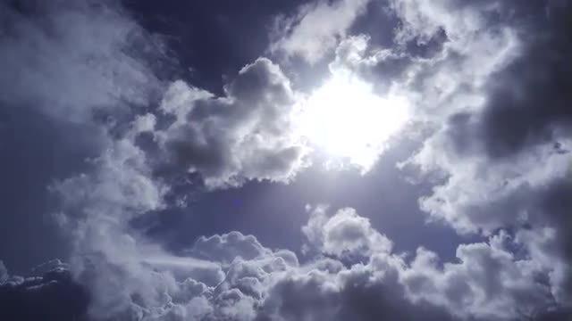 Dark Rain Clouds Moving Slowly: Stock Video