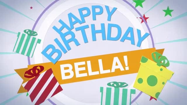 Happy Birthday: After Effects Templates