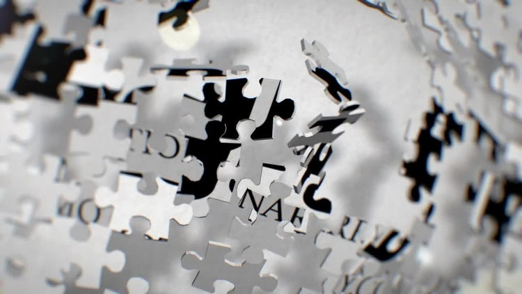 Puzzle Logo: After Effects Templates