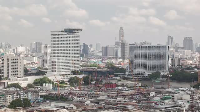 Time Lapse Of Bangkok City: Stock Video