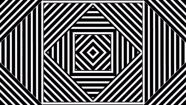Classic Illusion Pattern: Stock Motion Graphics