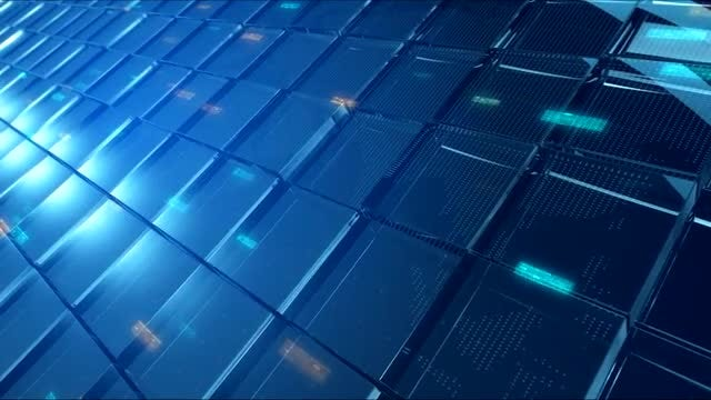 Elegant High-Tech Glass Background: Stock Motion Graphics