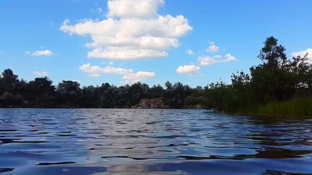 Time Lapse Of Calm Lake: Stock Video