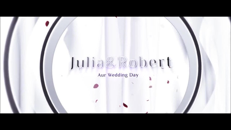 Wedding Opener : After Effects Templates