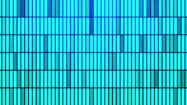 Blue LED Bars Disco Background: Stock Motion Graphics